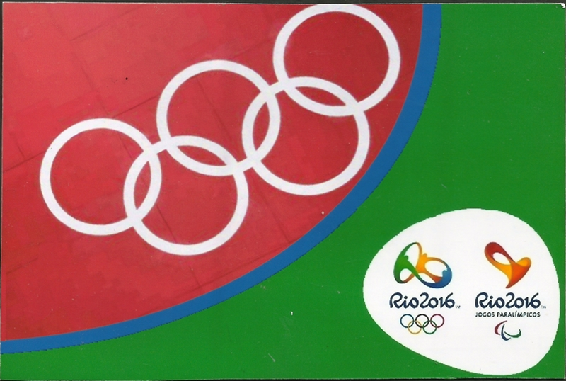 Olympic Cards from Rio 2016